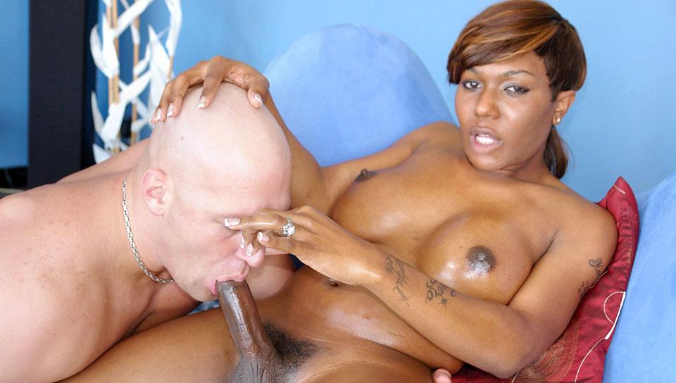 She-Male XTC #06 Beautiful Black TS